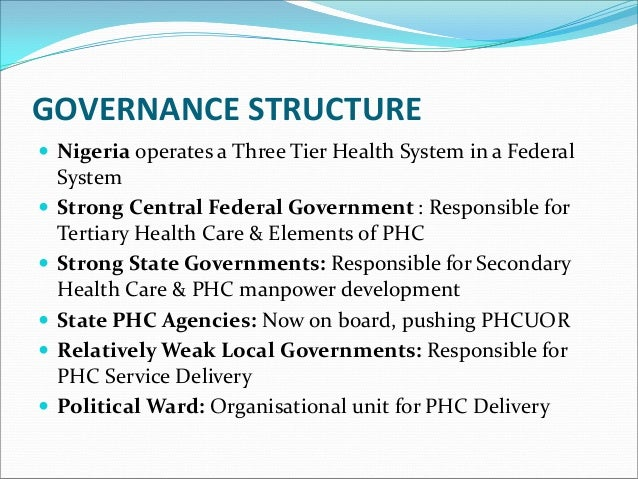 Primary Health Care Under One Roof - An Overview