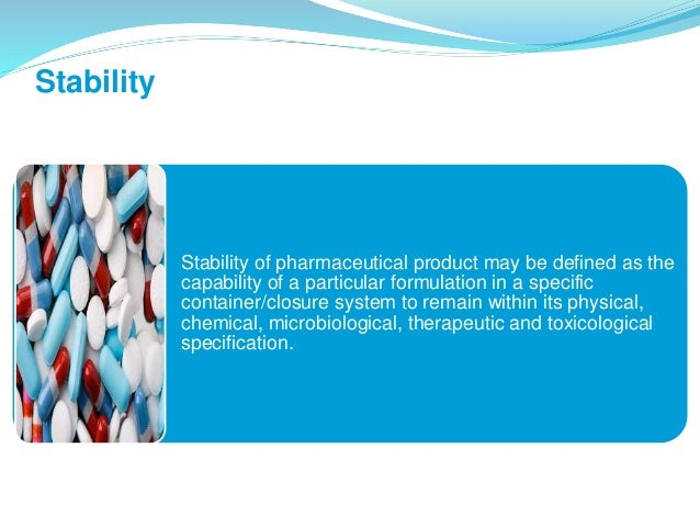 The role of stability testing in pharmaceutical manufacturing