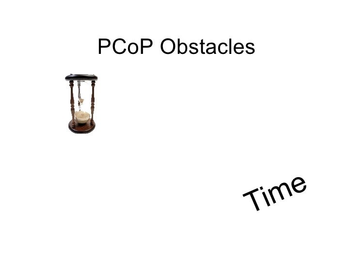 PCoP Obstacles Time