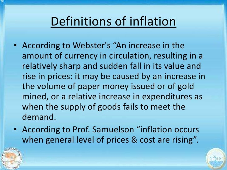 Causes of inflation. Ppt video online download.