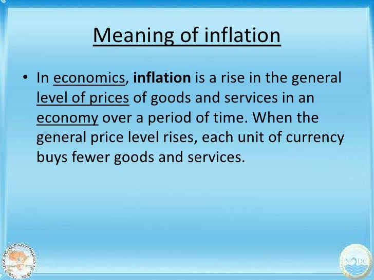 Presentation on inflation youtube.