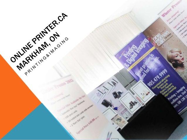 ONLINEPRINTER.CAWeb-to-print publishingCorporate identity managementBilingual Customer ServiceOnline convenience 24/7...