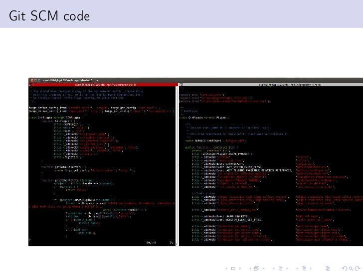 Git SCM code