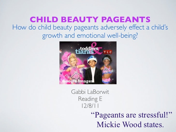 child beauty pageants harmful statistics