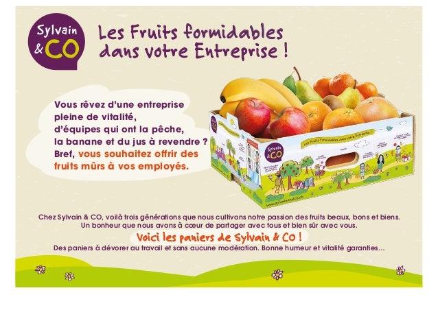Les Fruits formidables dans votre Entreprise ! Vous rêvez d'une entreprise pleine de vitalité, d'équipes qui ont la pêche,...