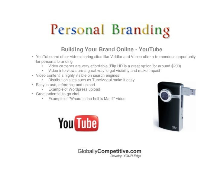 Building Your Brand Online - LinkedIn • LinkedIn is the most professional or business-like of the social networks. It seek...