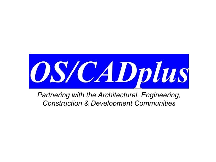 Partnering with the Architectural, Engineering, Construction & Development Communities