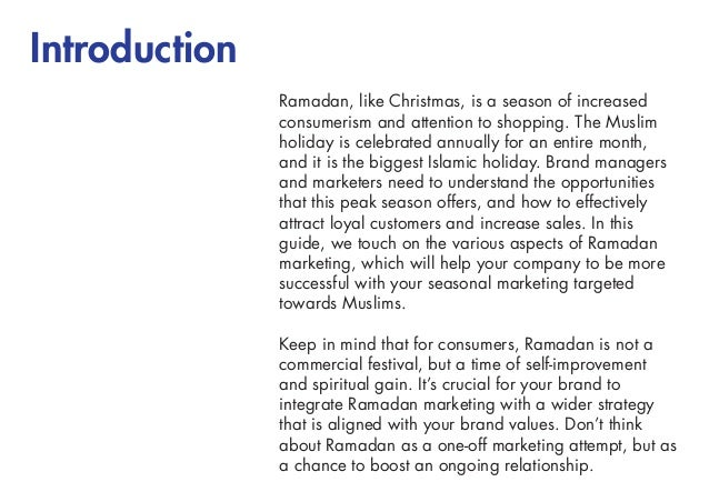 Creative writing on ramadan in english