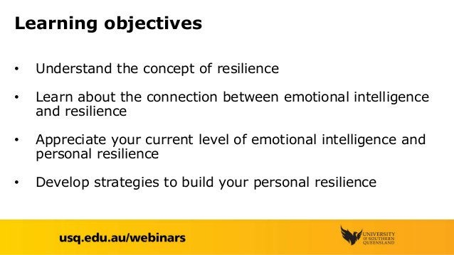 Emotional intelligence and resilience