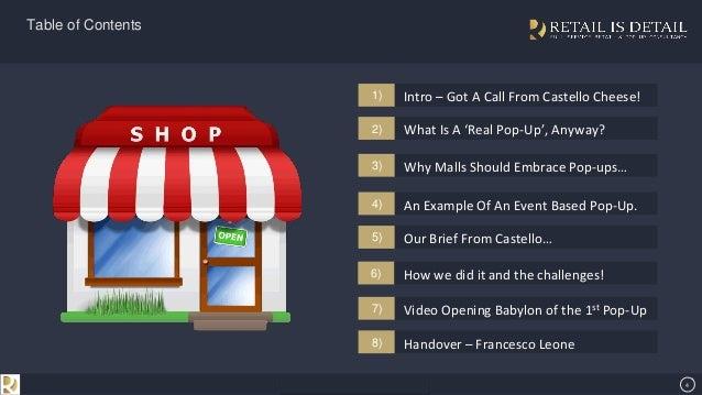 Retail is detail presentation on how brands are leveraging pop ups in 4 se7en creative powerpoint template toneelgroepblik Choice Image