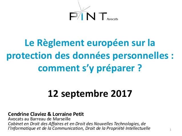 Cendrine Claviez & Lorraine Petit Avocats au Barreau de Marseille Cabinet en Droit des Affaires et en Droit des Nouvelles ...