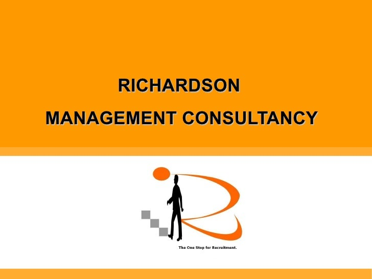 RICHARDSON  MANAGEMENT CONSULTANCY