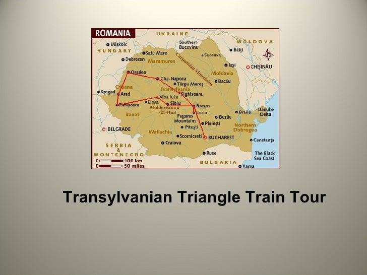 Transylvanian Triangle Train Tour