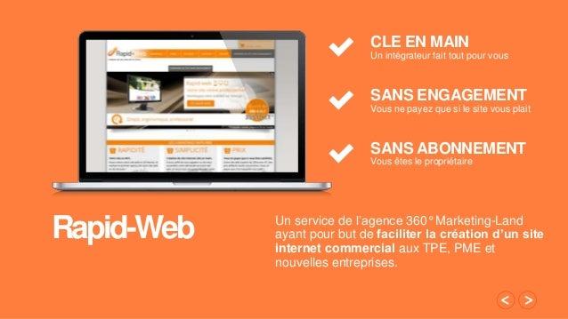 d49a4d8a942 Création de site internet pour TPE et PME avec Rapid-web