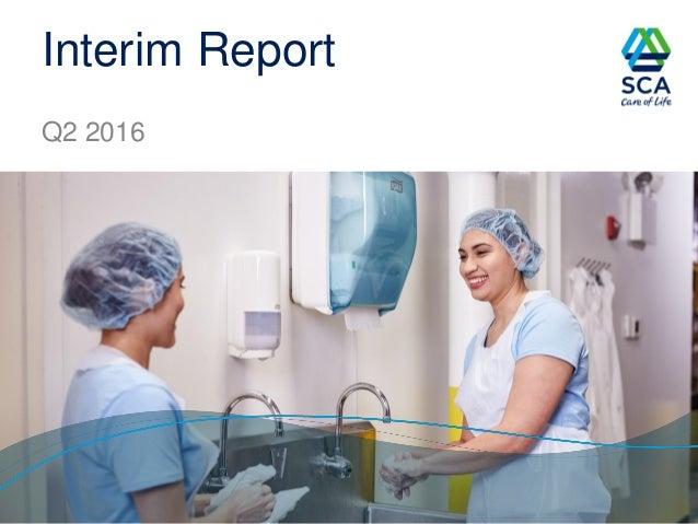 Interim Report Q2 2016