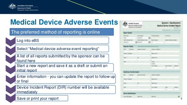 Presentation medical devices how to stay included workshop advers adverse event reporting and all it entails 8 10 altavistaventures Gallery
