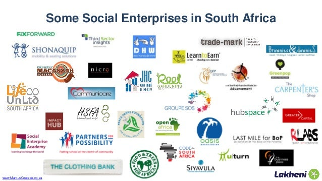 Social Enterprises In South Africa Don T Let Legal Forms