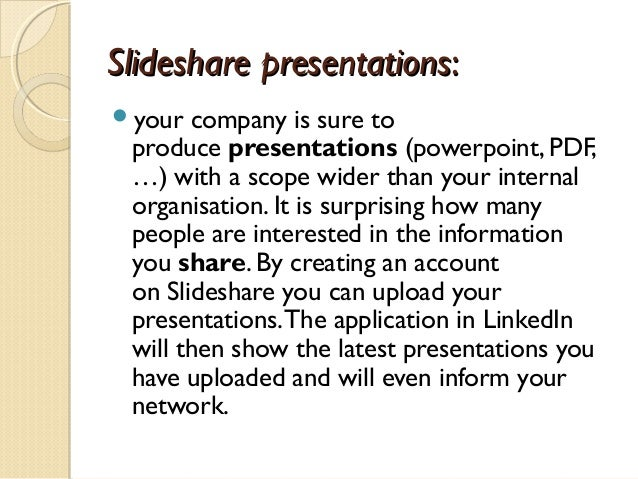 Presentation social media marketing for Real Estate