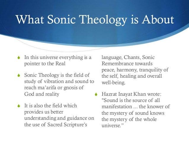 Sonic Theology Slide 2