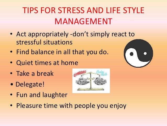 Effective performance through better stress handling