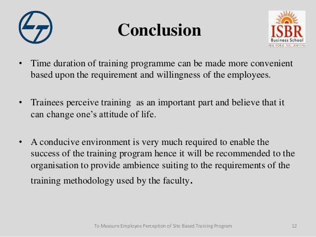 conclusion for training Conclusion during the industrial training at megamate computer holdings (m) sdn bhd its technician department have long been exposed to various activities and tasks in this company indirectly, trainees also have to know every responsibility and role in the company.