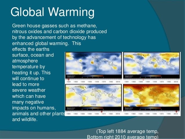global warming it's affects on the The effects of global warming in alaska in this media-rich lesson, students learn how global warming is changing the alaskan environment and examine the consequences of climate change on the region's human and wildlife inhabitants.