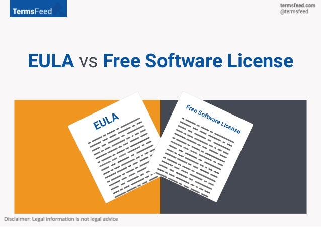 EULA vs Free Software License