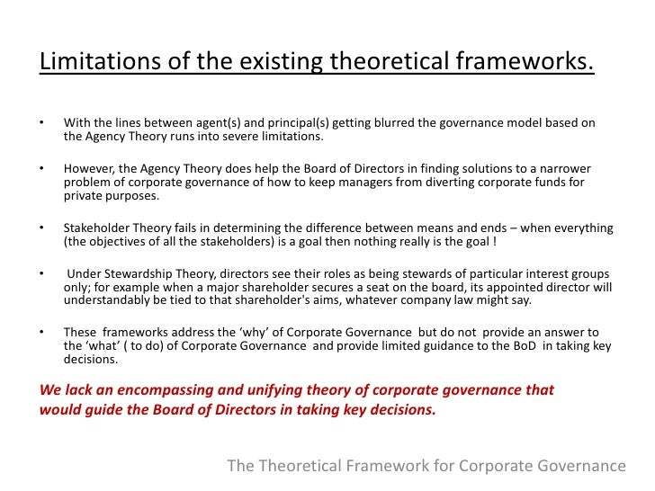 governance and development a conceptual framework Literature within the cross sector collaboration, innovation and stakeholder fields has been reviewed using a systematic approach (tranfield et al, 2003) and from this examination a preliminary conceptual framework has been developed to consider business‐nonprofit interactions and how these can impact corporate innovation.