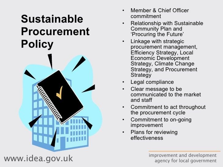 policy strategy the procurement cycle 7