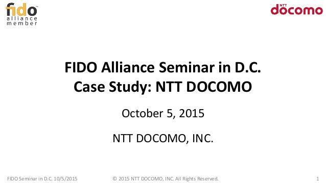 UAF Case Study by NTT Docomo