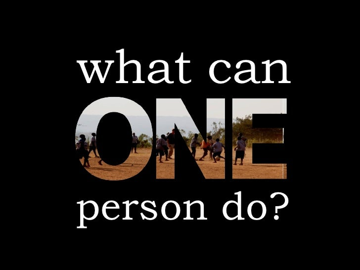 what can person do?