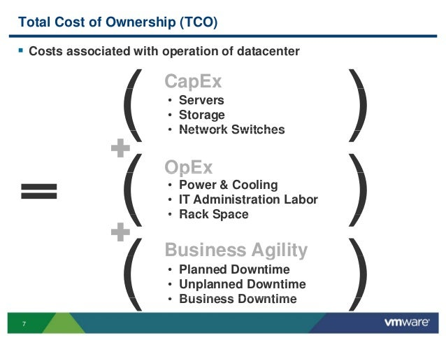 how to calculate tco