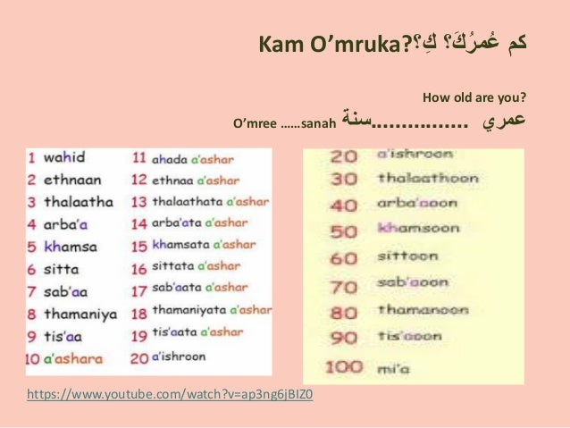 Hanadi Khadawardi - Arabic Presentation - week 6