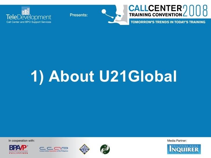 1) About U21Global