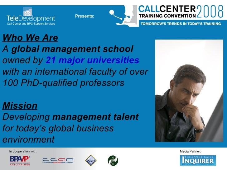 Who We Are A   global   management school  owned by  21 major universities  with an international faculty of over   100 Ph...