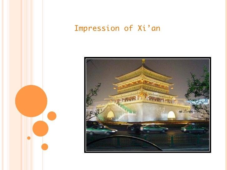 Impression of Xi'an