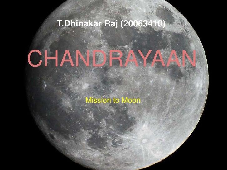 Chandrayaan I