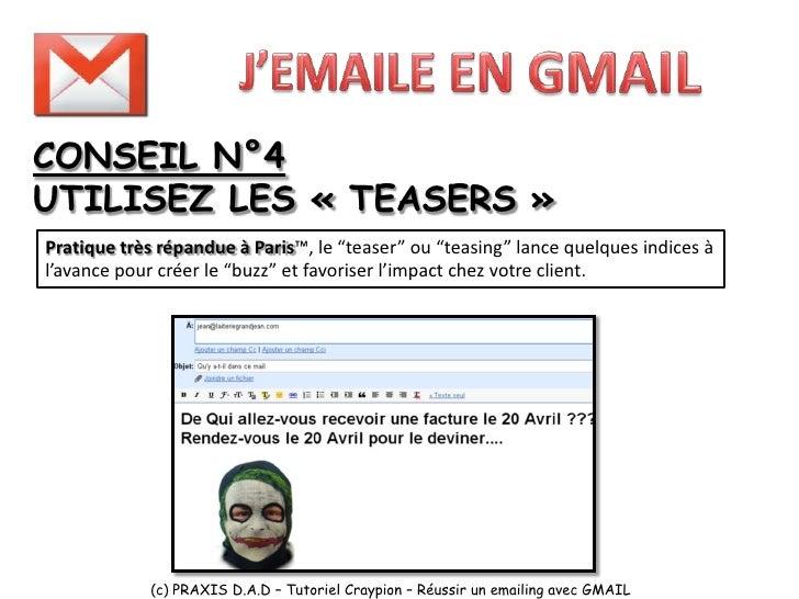 CONSEIL N°5 ANNULEZ VOS EMAILS !!!!!!!                                           Une nouvelle fonction de Gmail version   ...