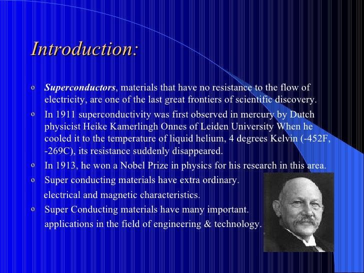 Super Conductors Slide 2