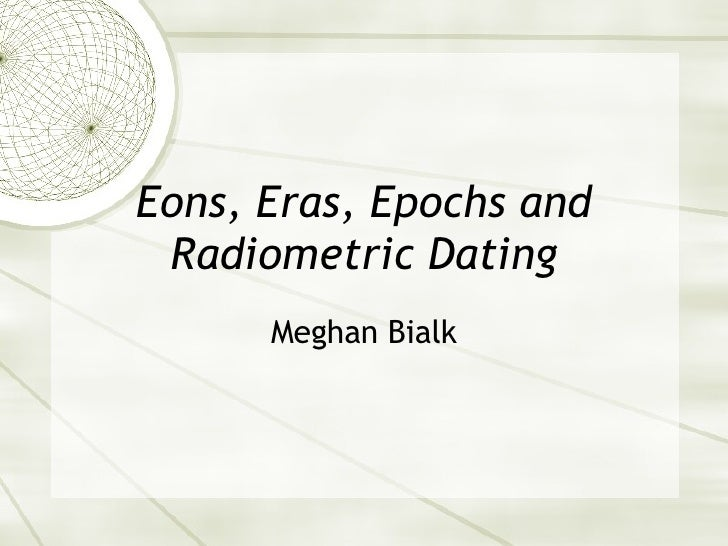 Radiometric dating en español