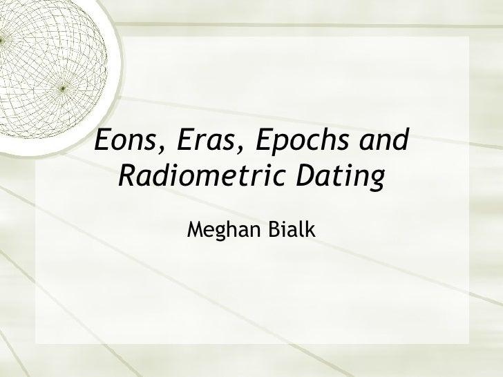 Radiometric dating en español