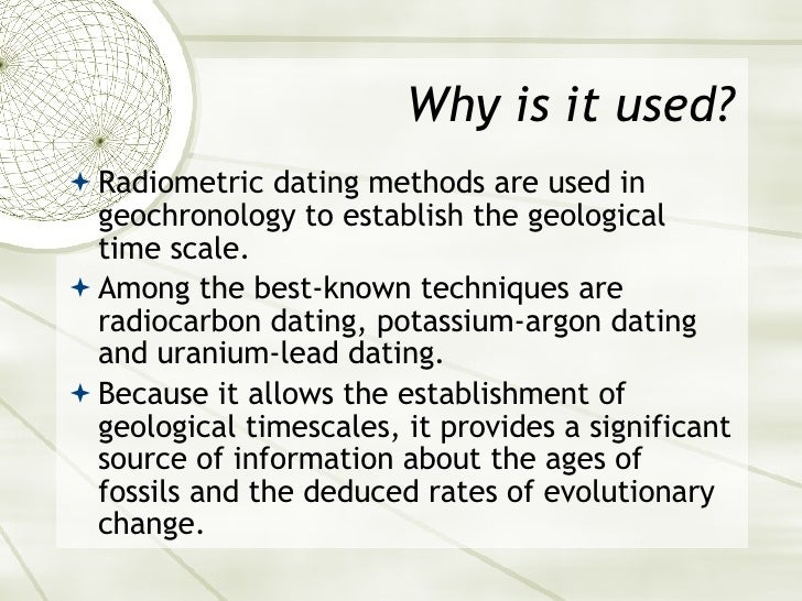 biology definition of radiometric dating Start studying ch 25 ap bio 2/2 learn vocabulary, terms, and more with flashcards, games, and other study tools search create log in sign  radiometric dating.