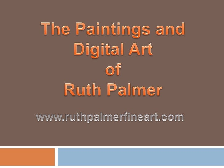 Ruth Palmer is an internationally published contemporary fine artist from Calgary, Alberta, Canada.  Ruth is probably best...