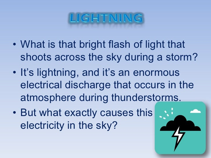 sc 1 st  SlideShare & How Does Lightning Work?