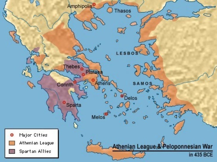 the division and interaction between sparta and athens in greece since 400 bc Athens and sparta were two rival city states  locate sparta and athens on a map of greece or motions pericles leads athens in its 'golden age' bc.