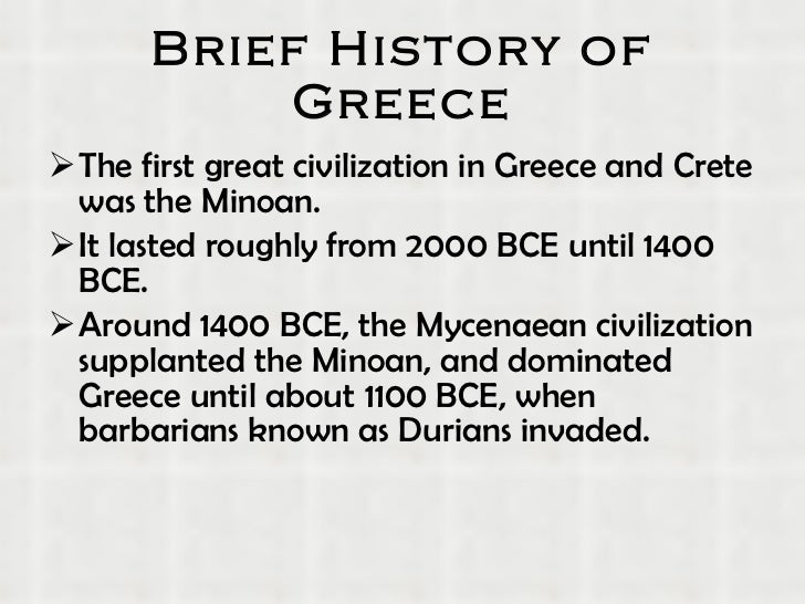 A Egean Sea 3 Brief History Of Greece