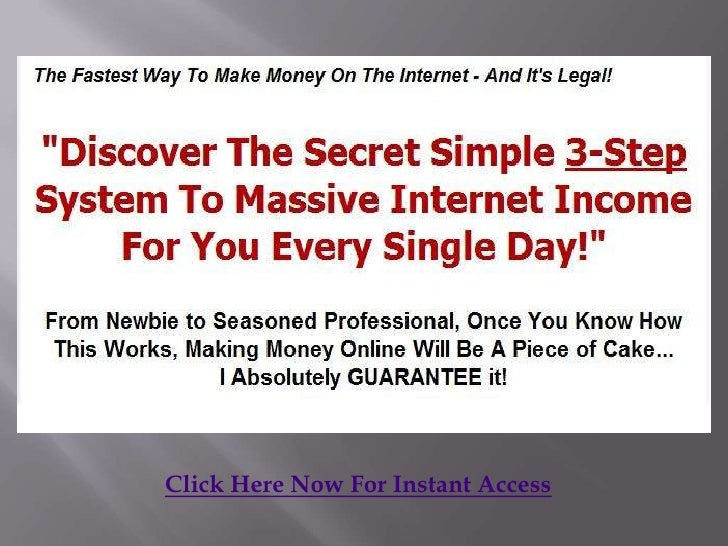 Click Here Now For Instant Access