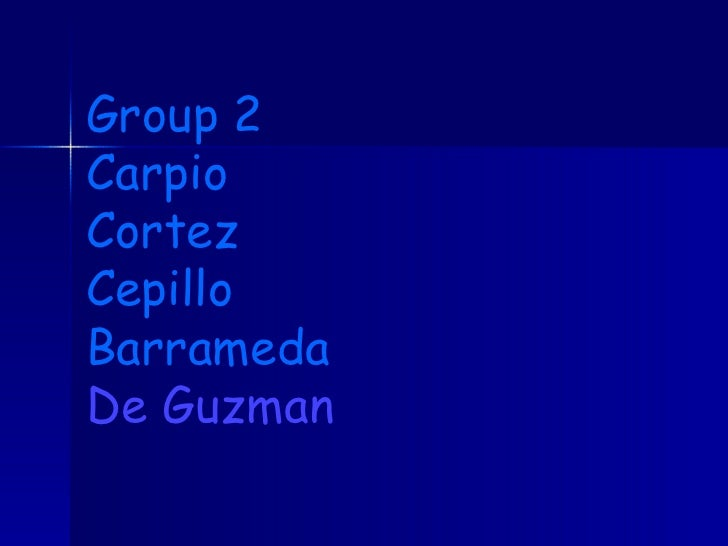 Group 2 Carpio Cortez Cepillo Barrameda De Guzman