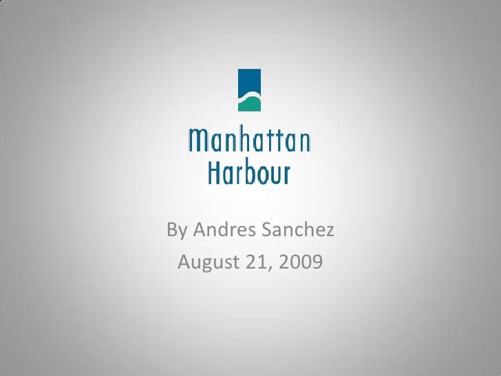 By Andres Sanchez<br />August 21, 2009<br />