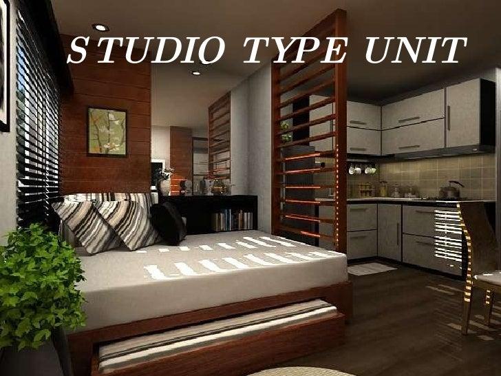Interior design for studio type condo philippines for Studio type design